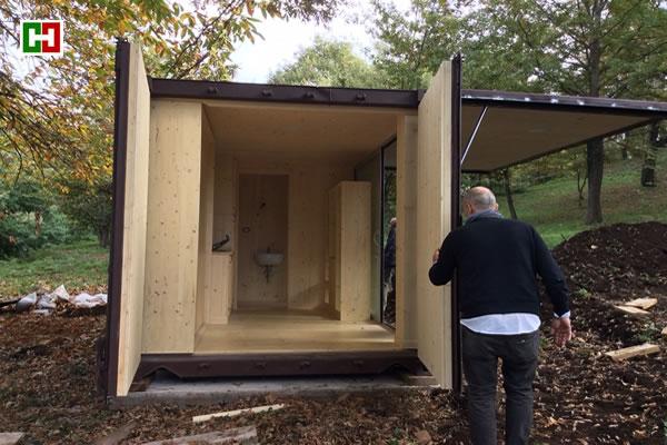 Progettazione e realizzazione case mobili for Moduli abitativi usati